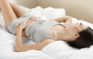 mujer menstruación